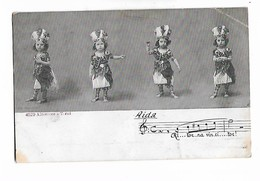 """ Aida  ""    4  Images  De  Petite  Fille   En  Costume  Egyptian - Szenen & Landschaften"