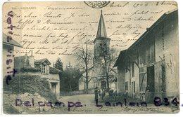 - 829 - ARCHAMPS - ( Haute-Savoie ), Ferme, Vaches Sortant De L'étable, Peu Courante, écrite 1904, BE, , Scans.  . - Francia