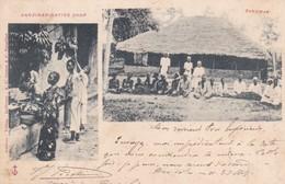 ZANZIBAR. NATIVE SHOP. MULTI VUE. A C GOMES & C. ETHNIC. CIRCULEE 1901 A FRANCE-RARISIME- BLEUP - Tanzania