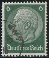 Allemagne Empire 1933 Yv. N°487 - 6p Vert Foncé - Oblitéré - Allemagne