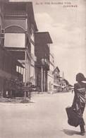 ZANZIBAR. THE MALINDI PIER. ETHNIC GIRL. CIRCULEE 1900 A LONDON-UNIQUE-RARISIME- BLEUP - Tanzania