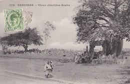 ZANZIBAR.VIEUX CIMETIERE ARABE. OBLITERE CIRCA 1900s-RARISIME- BLEUP - Tanzania