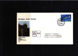 Germany / Deutschland 1984 Lufthansa First Flight Leningrad - Muenchen - [7] Federal Republic