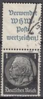 DR S 167, Gestempelt, Hindenburg 1939 - Zusammendrucke