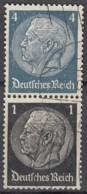 DR S 171, Gestempelt, Hindenburg 1939 - Zusammendrucke