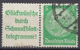 DR W 88.1, Gestempelt, Hindenburg 1940/41 - Zusammendrucke