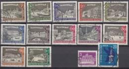BERLIN Jahrgang 1962-1963, Gestempelt, Komplett 218-232 - Used Stamps