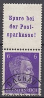 DR S 282, Gestempelt, AH 1941 - Zusammendrucke