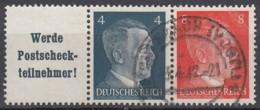DR W 153, Gestempelt, AH 1941 - Zusammendrucke