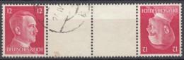 DR KZ 41, Gestempelt, AH 1941 - Zusammendrucke