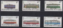 BULGARIEN 4144-4149, Postfrisch **, Straßenbahntriebwagen 1994 - Bulgaria