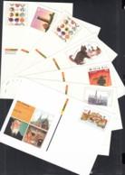 BRD  PSo 82 - 88, 7 Postkarten Mit Frankaturgültigem Sonderwertstempel 2003-2004 - BRD