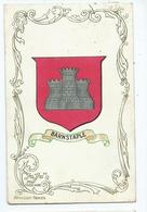 Barnstaple Heraldic Series Crest Posted 1906 - Engeland