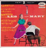 LES PAUL & MARY FORD - Lies -  EP - 45 Rpm - Maxi-Single