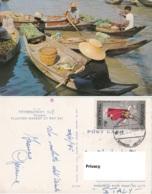 Tailandia Dhonburi. Thailand : Floating Market At Wat Sai. - Mercati