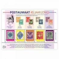 Nederland  2018   Zegel Op Zegel Stamp On Stamp 1 Rollstamps        Blok/m/s   Postfris/mnh/neuf - Period 1980-... (Beatrix)