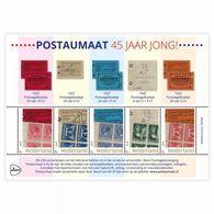 Nederland  2018   Zegel Op Zegel Stamp On Stamp 2 Bookletstamps        Blok/m/s   Postfris/mnh/neuf - Period 1980-... (Beatrix)