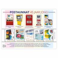 Nederland  2018   Zegel Op Zegel Stamp On Stamp 4   Fish    Blok/m/s   Postfris/mnh/neuf - Period 1980-... (Beatrix)