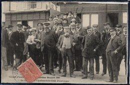 AUVERGNE - CIRCUIT D'AUVERGNE COUPE GORDON BENNETT 1905 - LE GROUPE DE L'AUTOMOBILE CLUB - THEME COURSE AUTOMOBILE - Non Classificati