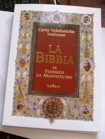 VATICAN 2018, COMPLETE YEAR IN ELEGANT FOLDER LA BIBBIA NUOVO E ANTICO TESTAMENTO - Vaticano