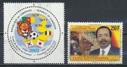 °°° CAMERUN - Y&T N°905/6 - 2002 °°° - Camerun (1960-...)