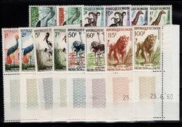Niger - YV 96A à 108 N** Complete Protection De La Faune Dont 8 Petits Coin Datés - Niger (1960-...)
