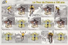 BLOC 100 ANS TOUR DE FRANCE - Mint/Hinged