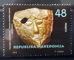 MACEDONIA 2018 Cultural Heritage - Golden Funeral Mask MNH - Macedonië