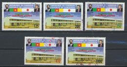 °°° CAMERUN - Y&T N°909/10/11/13/15 - 2005 °°° - Camerun (1960-...)