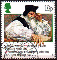 GREAT BRITAIN 1988 400th Anniversary Of Welsh Bible: 18p Rev. William Morgan - 1952-.... (Elizabeth II)