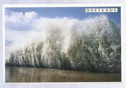 OOSTENDE STORM LANGS DE ALBERT I PROMENADE LIMITED EDITIONS PHOTO TROPIC - Oostende