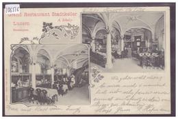 LUZERN - RESTAURANT STADTKELLER - TB - LU Lucerne