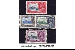 JAMAICA - 1935 KGV SILVER JUBILEE SG#114-117 - 4V - MINT HINGED - Jamaica (...-1961)
