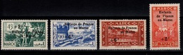 Maroc - YV 200 à 203 N** Luxe - Enfants De France Refugies Au Maroc Cote 20+ Euros - Maroc (1891-1956)