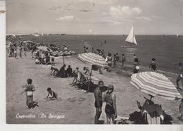 Cesenatico Cesena La Spiaggia 1956 Vg - Cesena