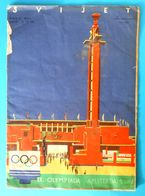 YUGOSLAVIA KINGDOM 1928. Magazine Cover + Reportage OLYMPIC GAMES AMSTERDAM 1928. Olympia Olympiade Olimpische Spiele RR - Apparel, Souvenirs & Other