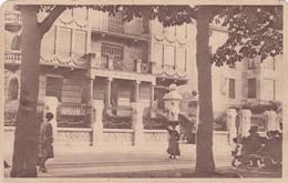 TOLOSA. PASEO DE SAN FRANCISCO Y EDIFICIO DEL BANCO. LABORDE Y LABAYEN. CIRCA 1920s NON CIRCULEE- BLEUP - Guipúzcoa (San Sebastián)