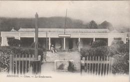 CILAOS : La Gendarmerie. (carte écrite Par Le Chef De Poste De Cilaos.) - La Réunion