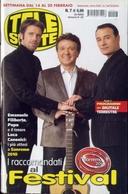 Telesette - 07-2010 - Emanuele Filiberto - Pupo - Luca - Télévision