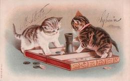 Chats Humanisés Jeu De Société - Chats