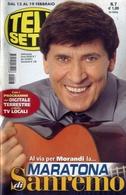 Telesette - 07-2011 - Gianni Morandi - Télévision