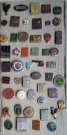 Croatia Bosnia Yugoslavia Slovenia 50 Different Pins  LOT 5 - Badges