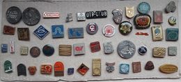 Croatia Bosnia Yugoslavia Slovenia 50 Different Pins  LOT 6 - Badges