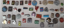 Croatia Bosnia Yugoslavia Slovenia 50 Different Pins  LOT 7 - Badges