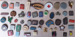 Croatia Bosnia Yugoslavia Slovenia 50 Different Pins  LOT 9 - Badges