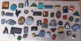Croatia Bosnia Yugoslavia Slovenia Czech Republic 50 Different Pins  LOT 10 - Badges
