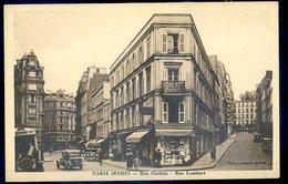 Cpa Du 75 Paris 18ème  Rue Custine  Et Rue Lambert   GX20 - Arrondissement: 18