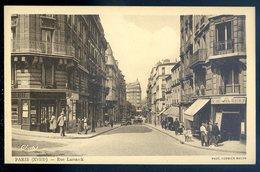 Cpa Du 75 Paris 18ème  Rue Lamarck   GX20 - Arrondissement: 18