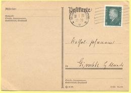 Deutsches Reich - 1931 - 8 - Postkarte - Viaggiata Da Münster Per Gimbte - Deutschland