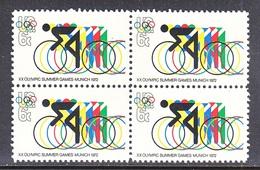 U.S.  1460 X 4   **   CYCLING  OLYMPICS - Cycling